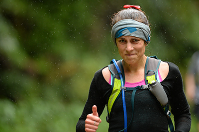 """The most insincere thumbs up I have ever given"" - Tarawera 2014. IMAGE: marceauphotography.com"