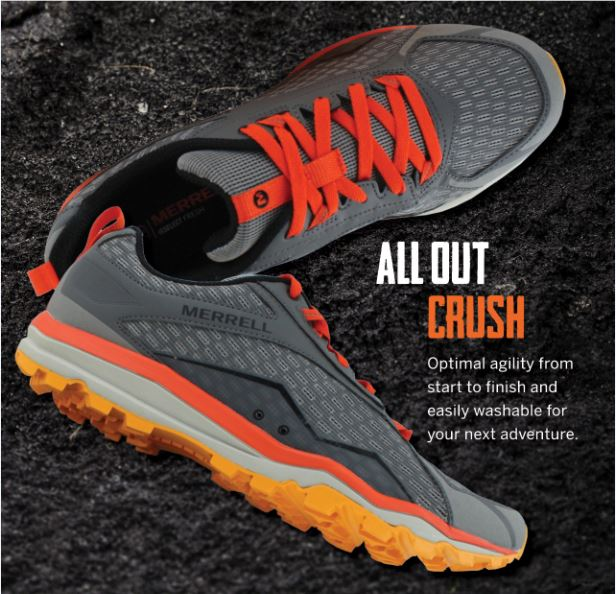 quality design 4d957 8a17d Trail shoe review: Merrell All Out Crush - TrailRun Magazine