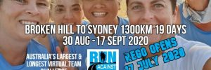 Run Against Violence Virtual Team Challenge
